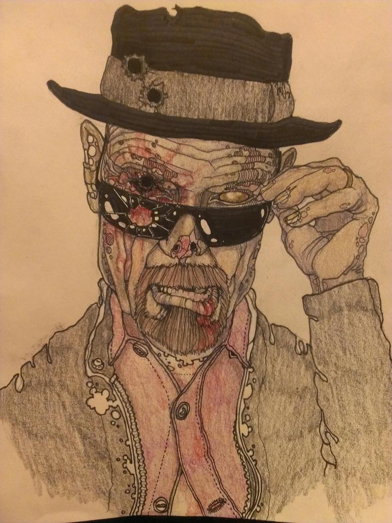Breaking Dead: I Am The One Who Kicks The Bucket by krutch99