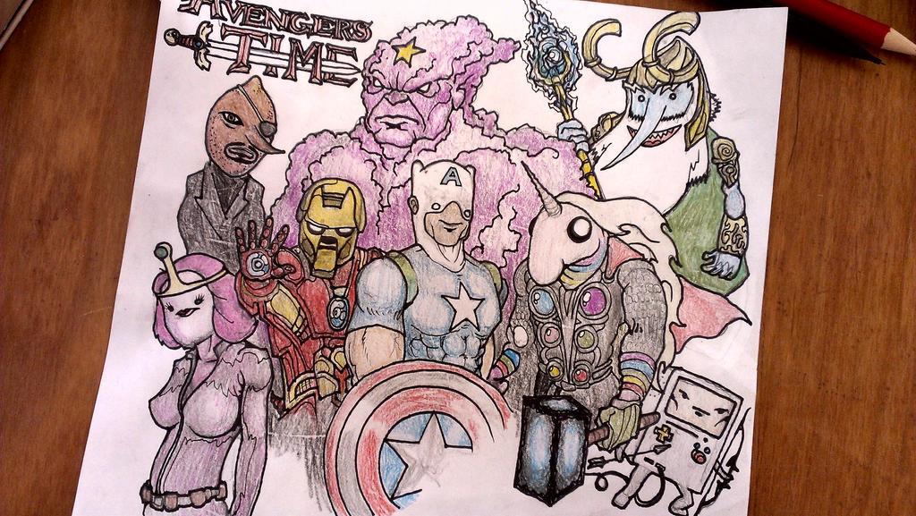 Avengers Time by krutch99