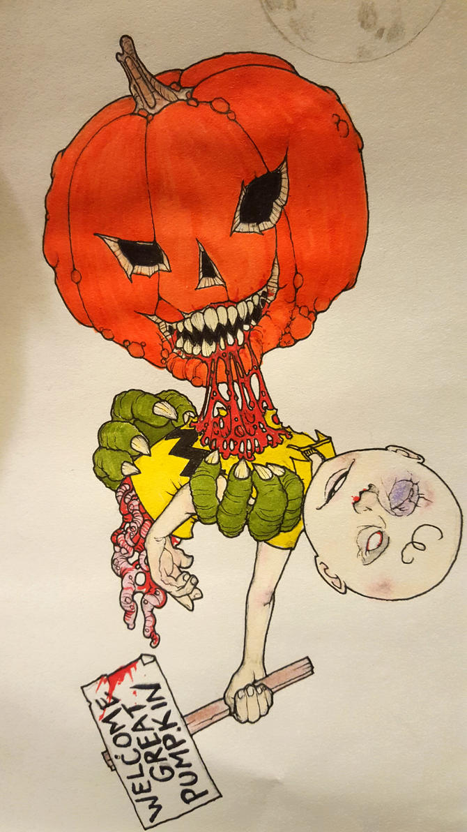 It's The Great Pumpkin Charlie Brown by krutch99