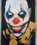 Stitchy the Clown wip by krutch99