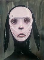 Blind Rabbit by krutch99