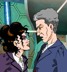 Missy and Twelve Doctor