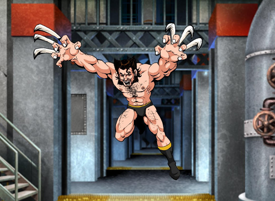 Divers - Page 3 Wolverine_by_marionpoinsot34-damj6n9