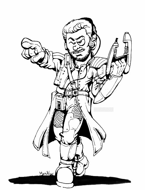 Starlord by MarionPoinsot34