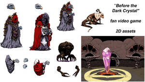 Before the Dark Crystal - Video Game - 2D Assets