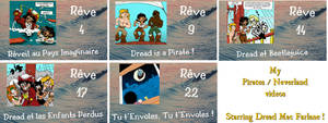 My Pirates Neverland Dreams Videos