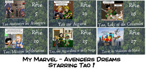 My Marvel Avengers Dreams