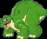 Spike The Stegosaurus Transparent Render