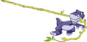 Chomper The Tyrannosaurus Rex Transparent Render 4