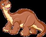 LittleFoot The Apatosaurus Transparent Render