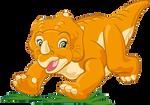 Cera The Triceratops Transparent Render 2