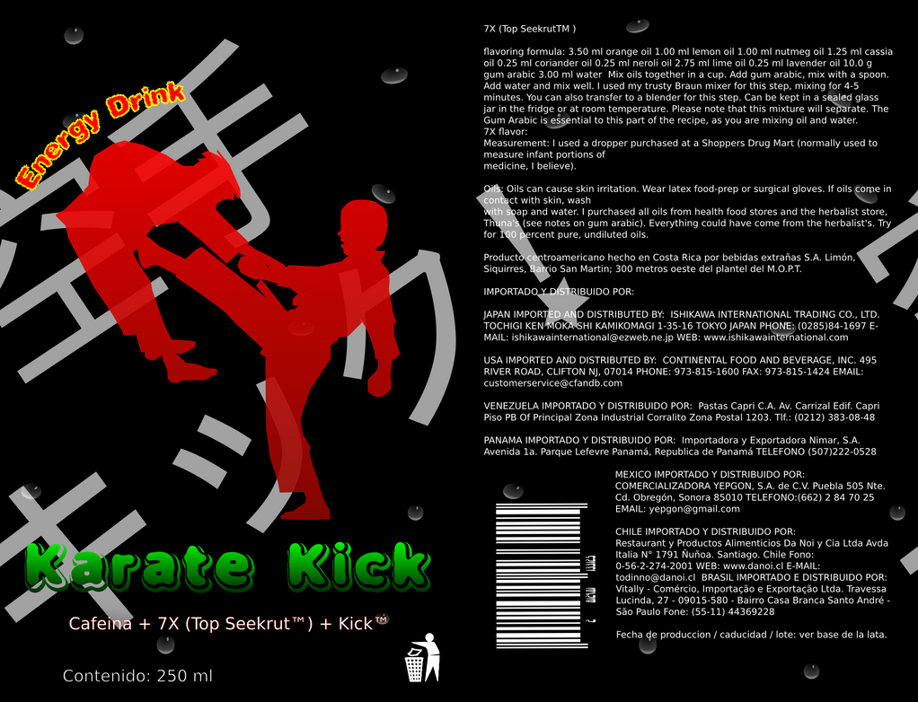 Kick Energy Drink