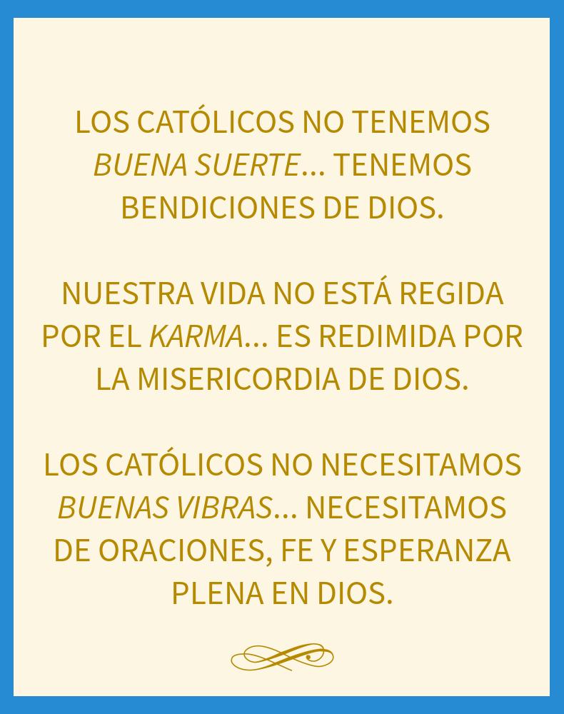 Los Catolicos no necesitamos... by MrShackra