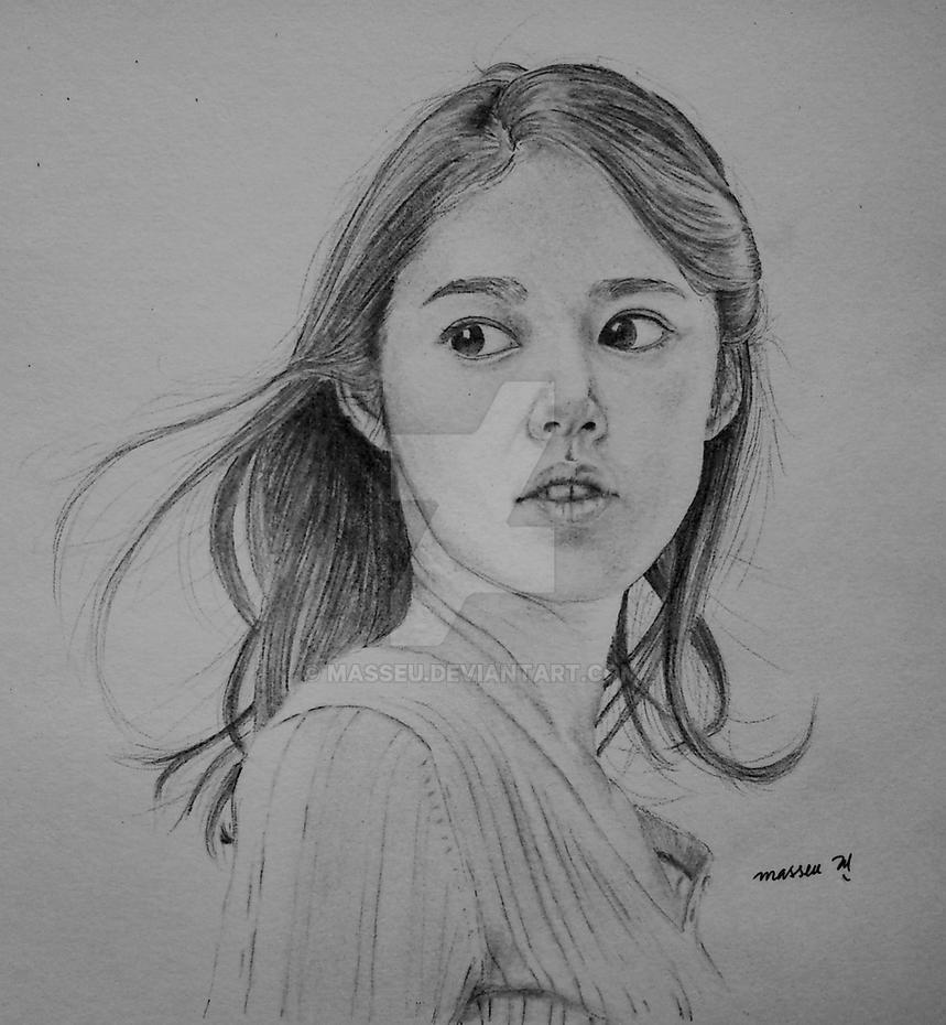 Han Ga-in Korean Actress Sketch By Masseu On DeviantArt