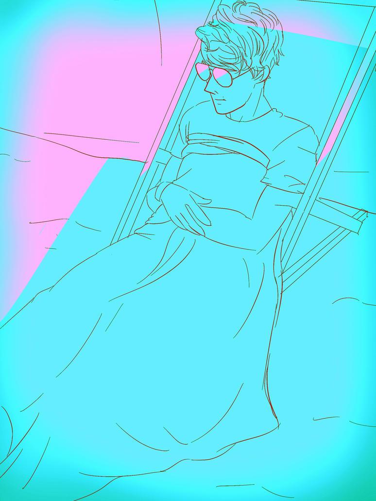 Tru chilling by KittyInBlue