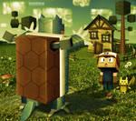 Poke-Cube by DANIELDOREA