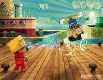 Cube-Fight by DANIELDOREA