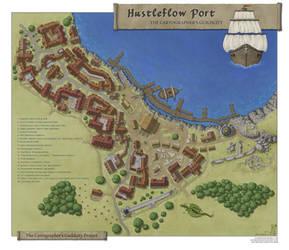 Guildcity, Hustleflow Port district by N-Horizons