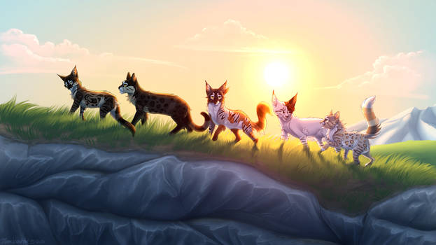 Warrior Cats: Ultimate Edition Fan Poster