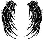 Wings of Death Tattoo