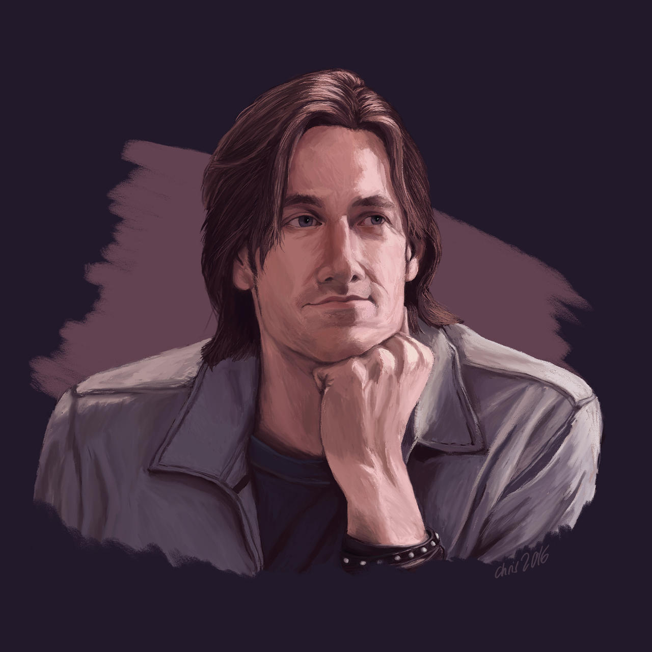 Portrait - Matthew Mercer by LadyOfTardis on DeviantArt