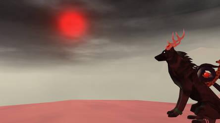 Blood Moon by Myzd