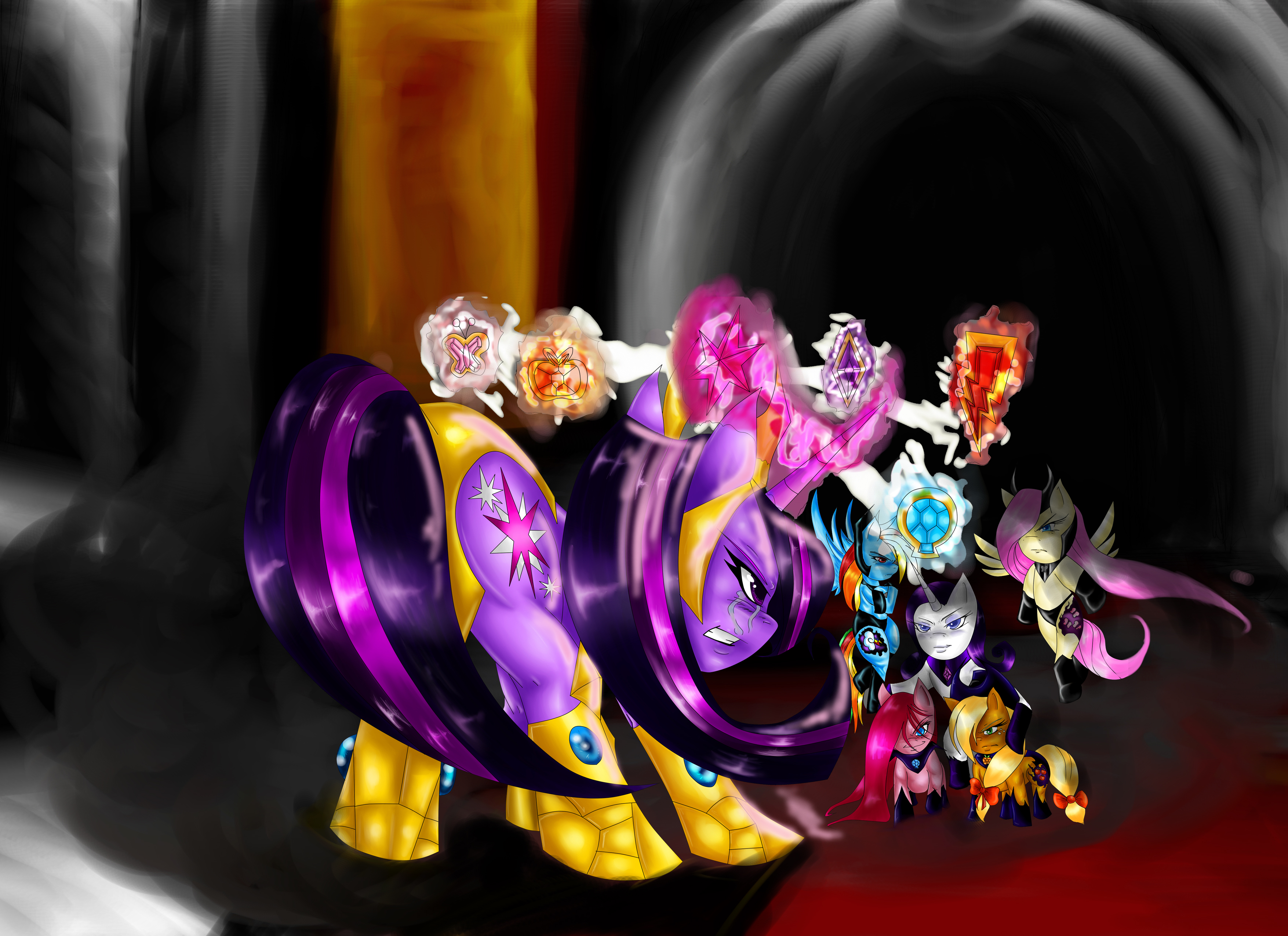 Art Work and More Of Twilight Sparkle 40 Badass Total