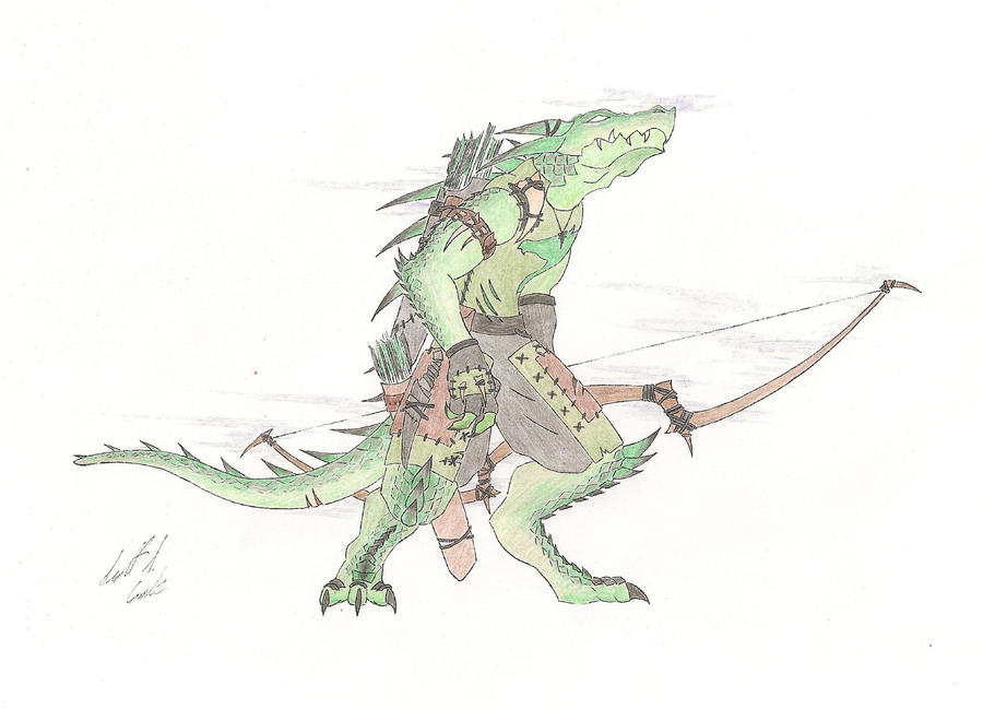 Kur'os, Dragonborn Seeker by Kurocyn