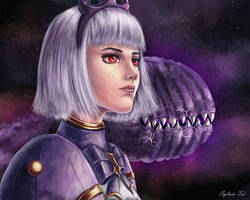 Orphea and Chomp  by SylviaTei