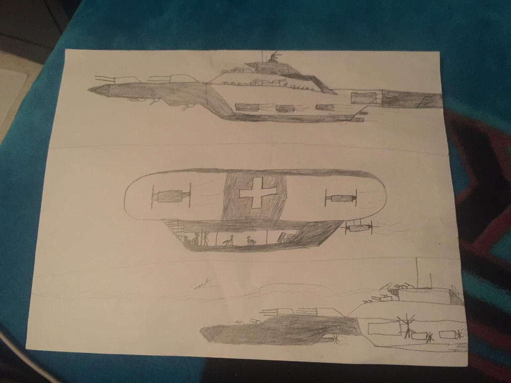 Seeing my old drawings 1 by ImperialGuardsmen78