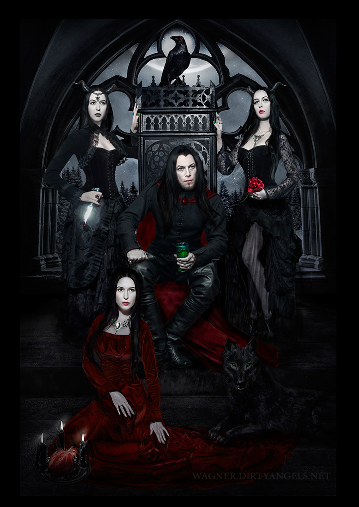 Dracula and His Brides by Wagner