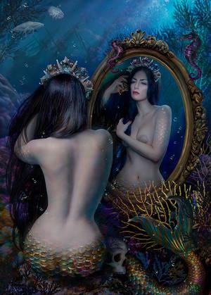 Mirror. Mermaid V by Wagner