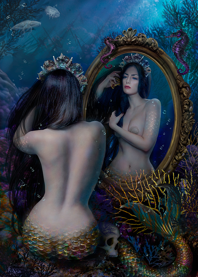 Mirror. Mermaid V