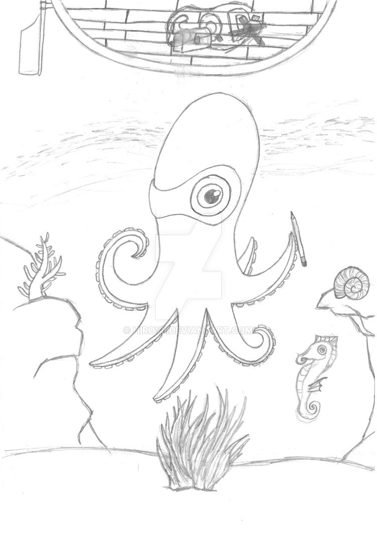 Squid?? by Hiroyii