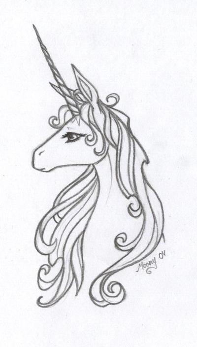 The Last Unicorn by Naiefae