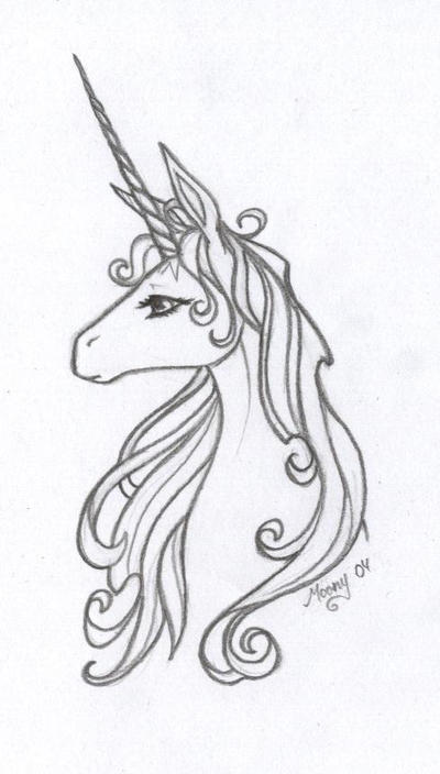 The Last Unicorn By Naiefae On DeviantArt