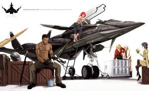 Team Dendrobium by P-Shinobi