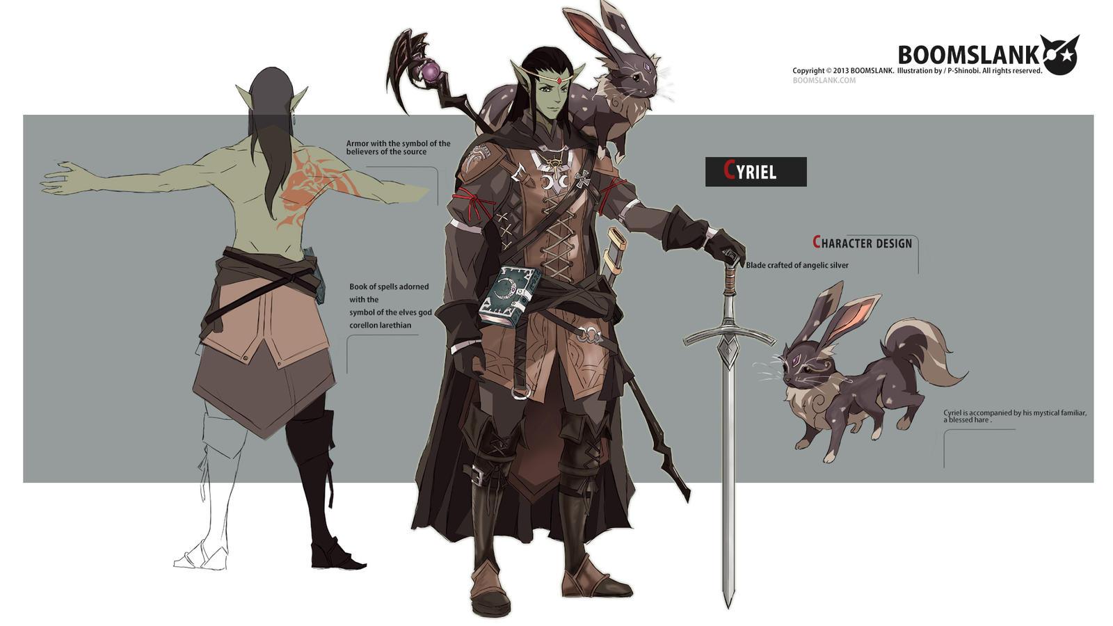 Cyriel (Commission) by P-Shinobi