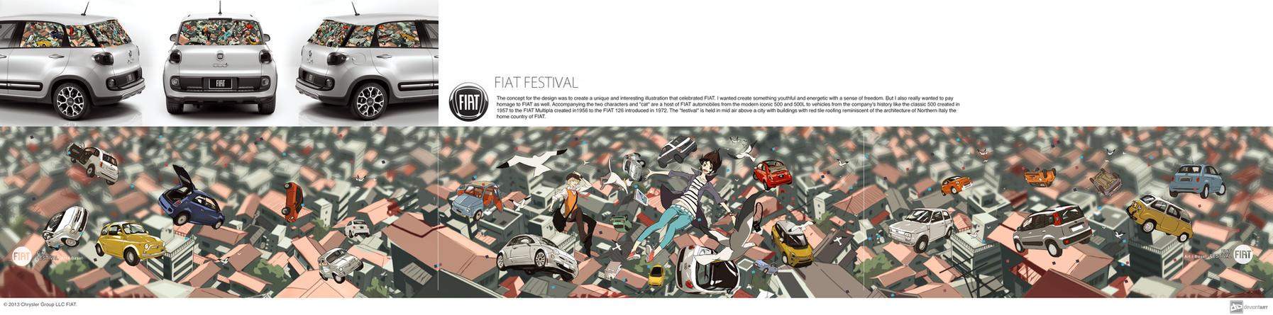 Fiat Festival concept by P-Shinobi