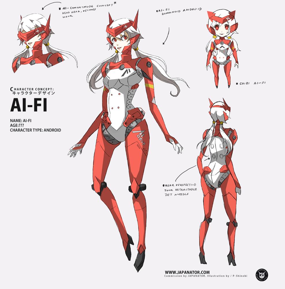 AI-FI (Commission) by P-Shinobi