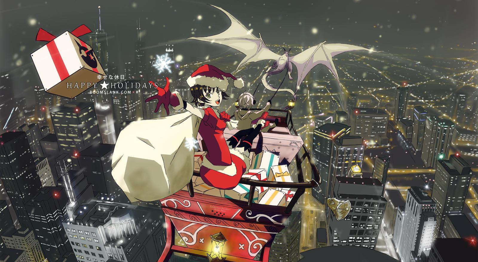 Happy Holidays 2013 by P-Shinobi