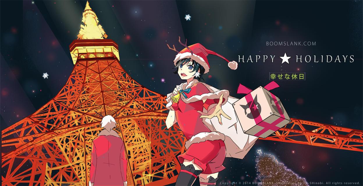 Happy Holidays! 2014 by P-Shinobi