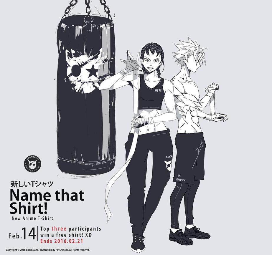 Name that Shirt! by P-Shinobi
