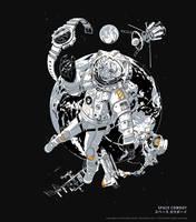 T-Shirt Space Cowboy by P-Shinobi