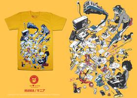Mania T-Shirt by P-Shinobi