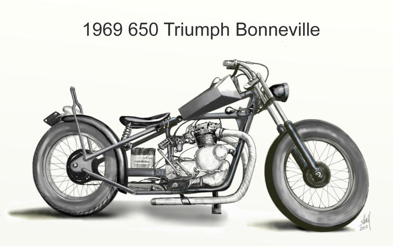 1969 Chopper by steverino365