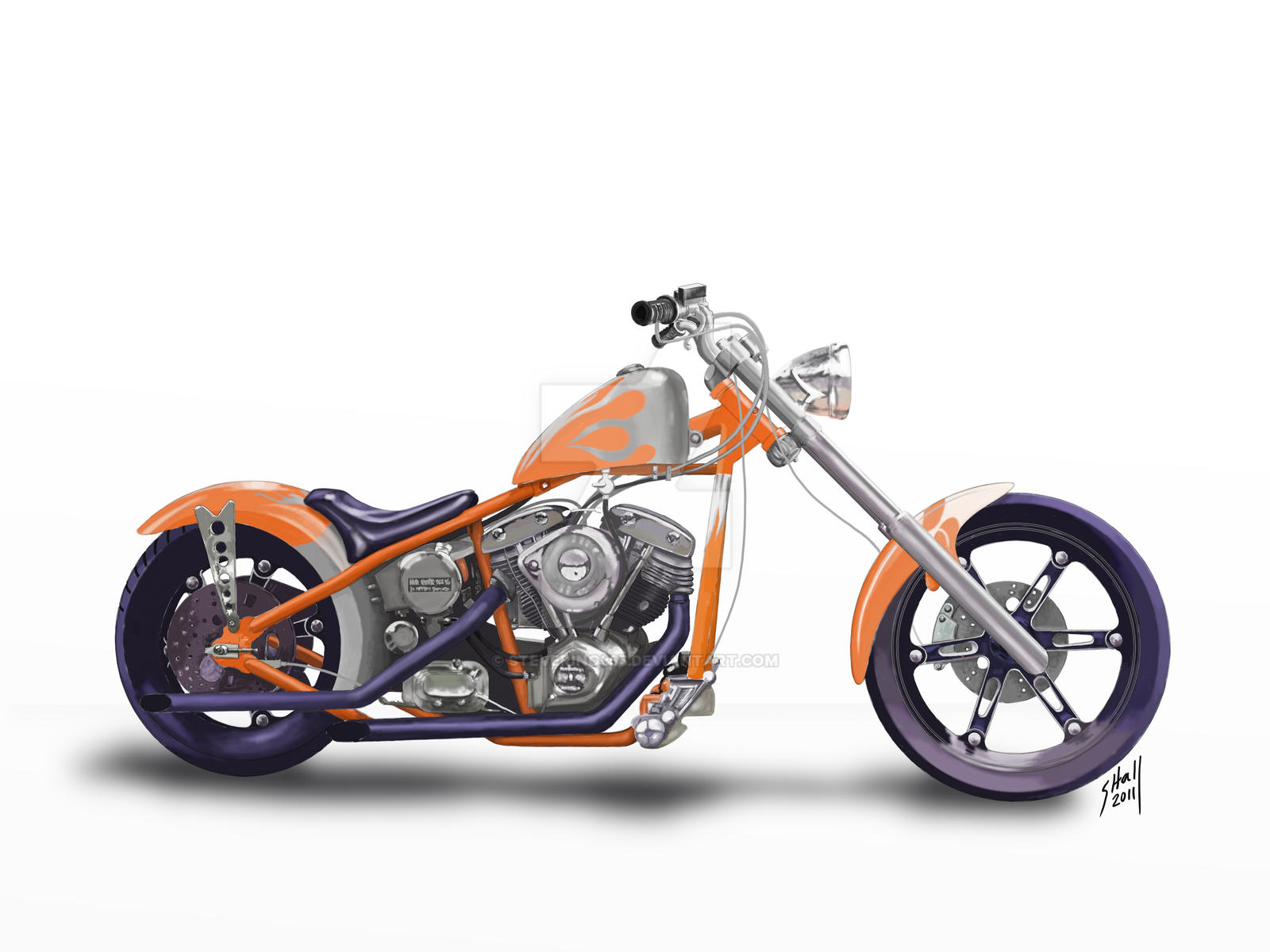 harley davidson chopper by steverino365 harley davidson chopper by steverino365
