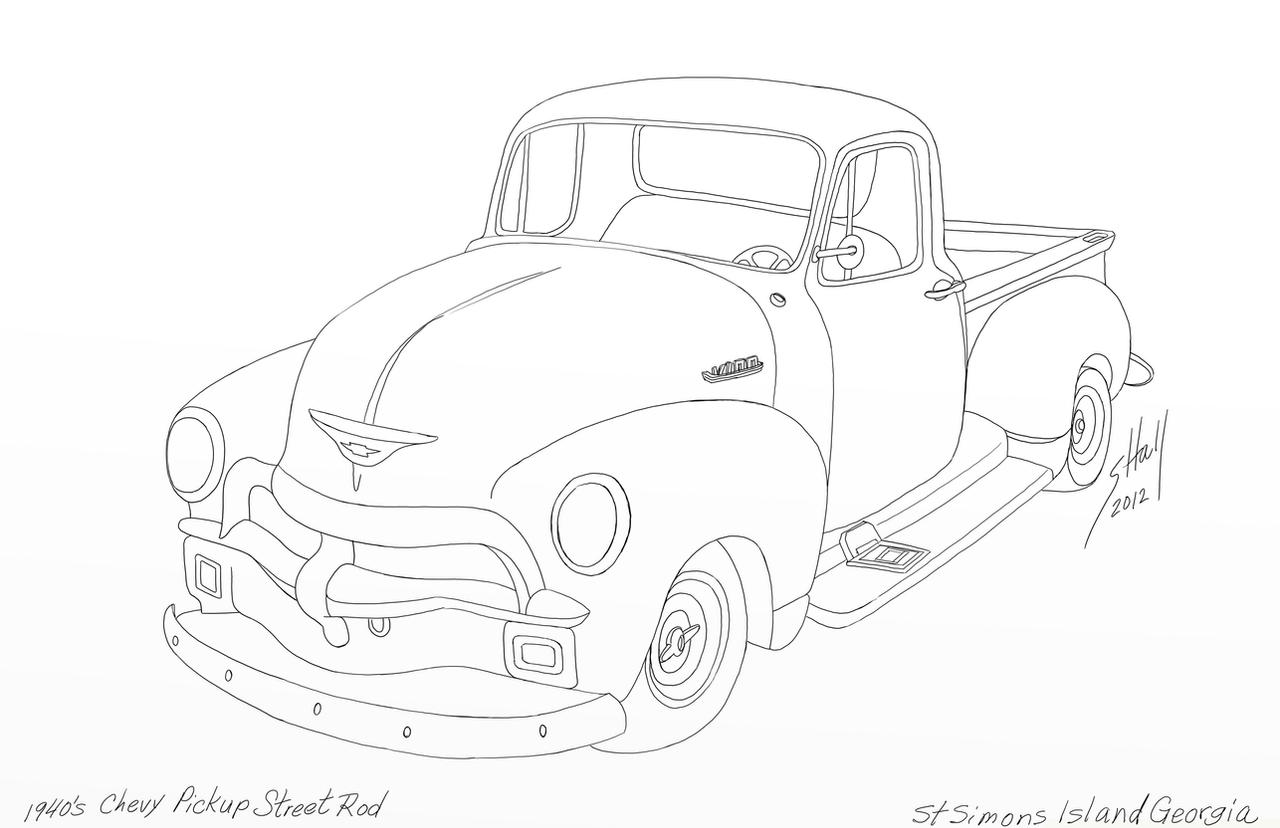 Image Result For Pickup Truck Coloring