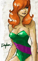 Scooby Pin UP - Daphne by yureisan