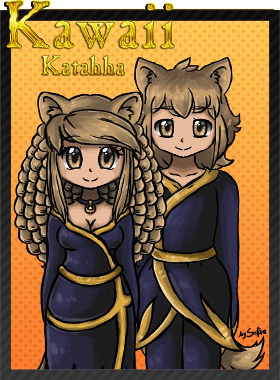 Kawaii Katahha by SofieAngel